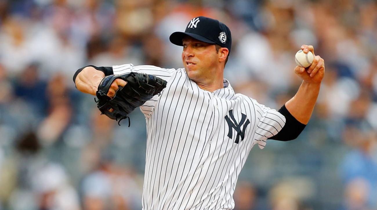 New York Yankees Chris Capuano