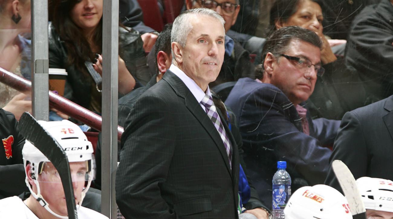 Flames sign coach Bob Hartley contract extension