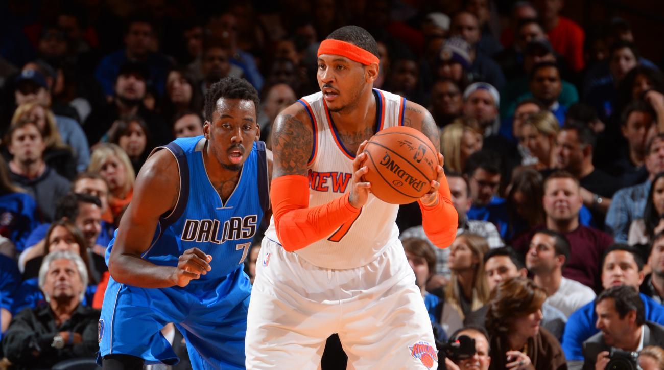 Knicks Carmelo Anthony Tyson Chandler