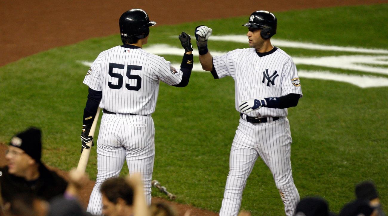 Yankees Derek Jeter Hideki Matsui charity game in Japan