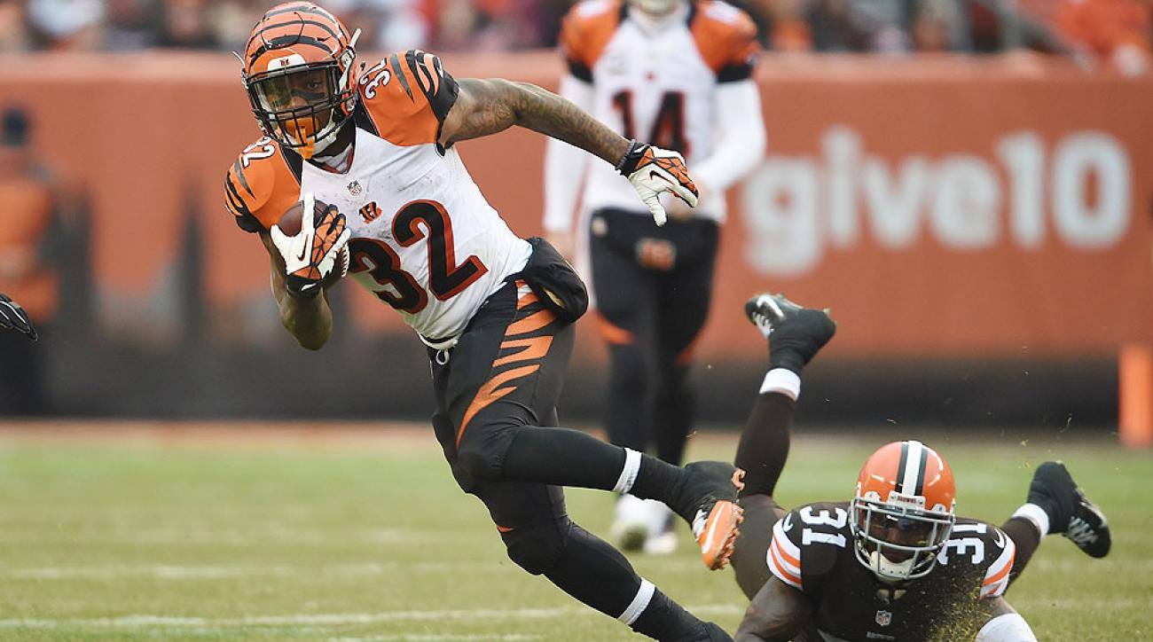 Fantasy football Week 16 stat projections: Jeremy Hill