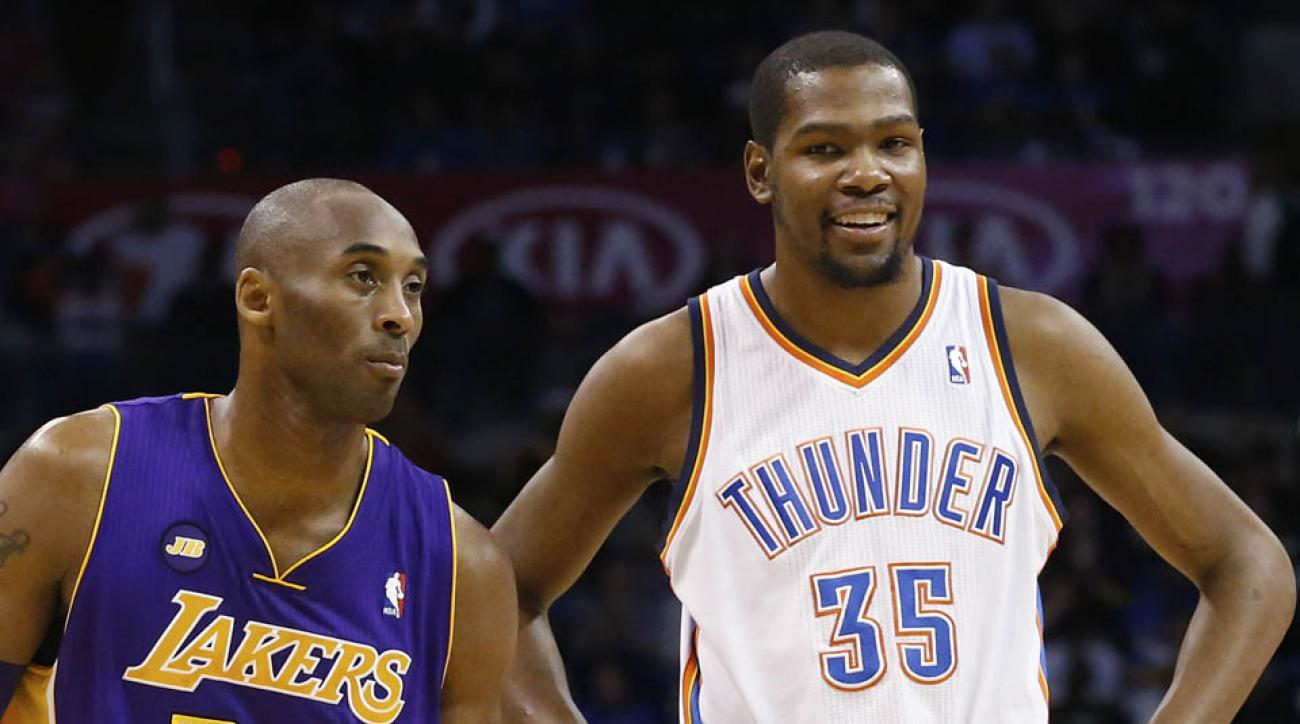finest selection f181f bff50 Kevin Durant on Kobe  I d want to play with a winner like that