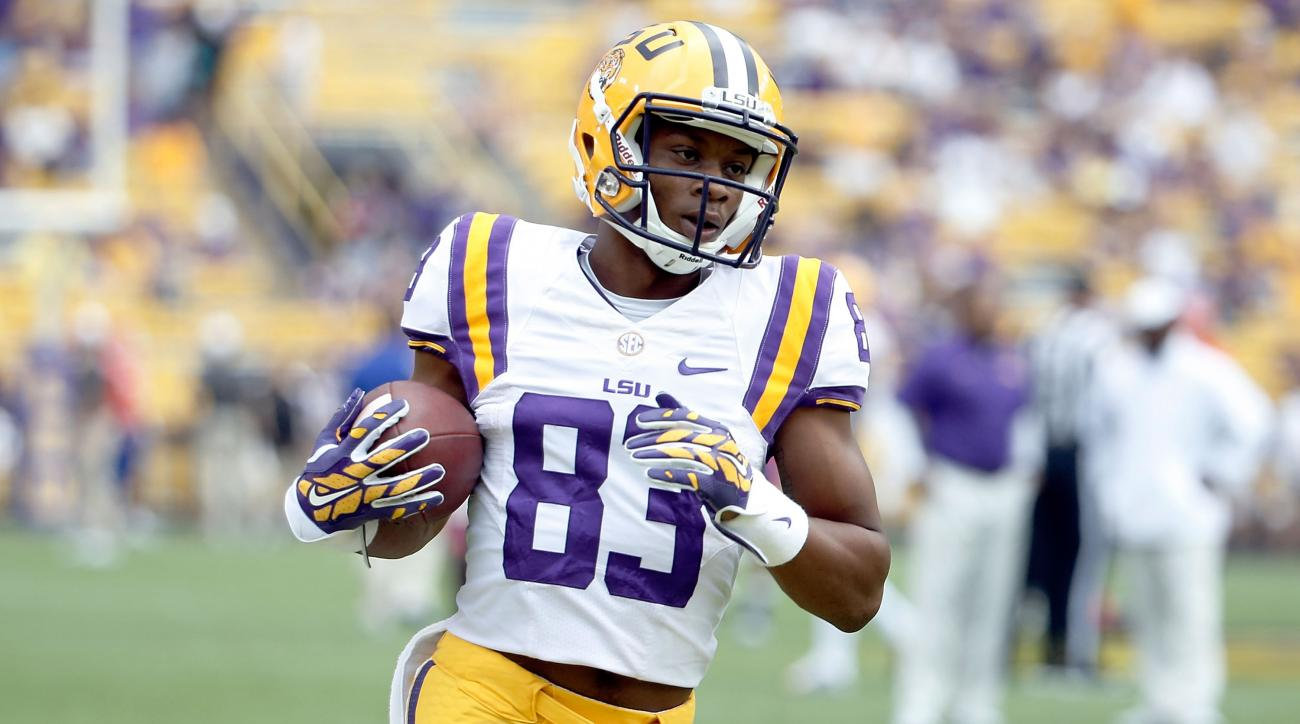 LSU wide receiver Travin Dural returning
