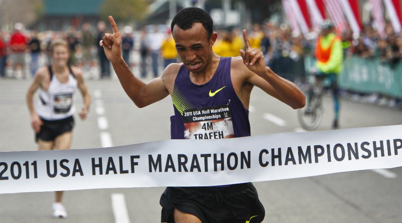 U.S. runner Mo Trafeh banned doping