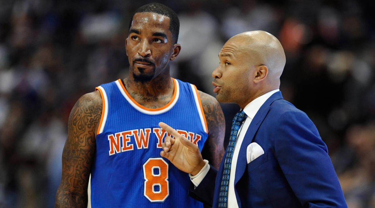Derek Fisher Knicks coach