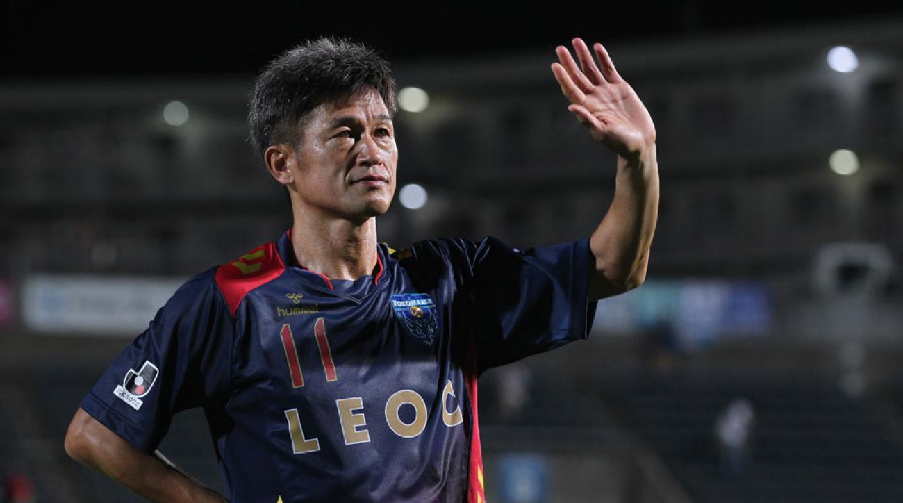 Kazuyoshi Miura Japanese soccer