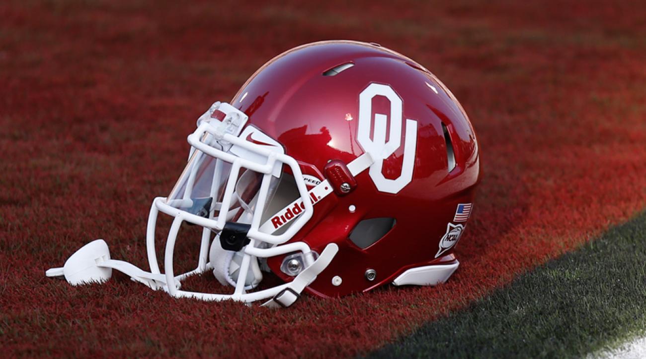 Oklahoma Sooners football helmet