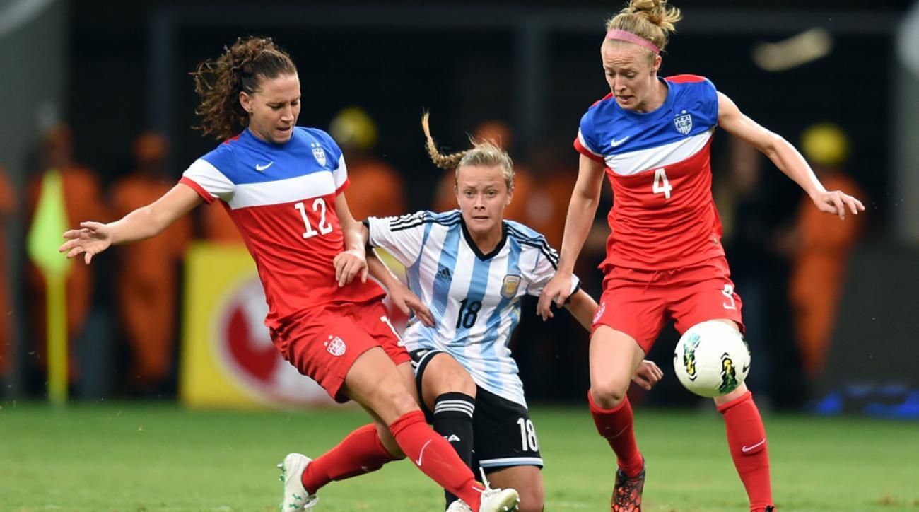 US women's soccer roster