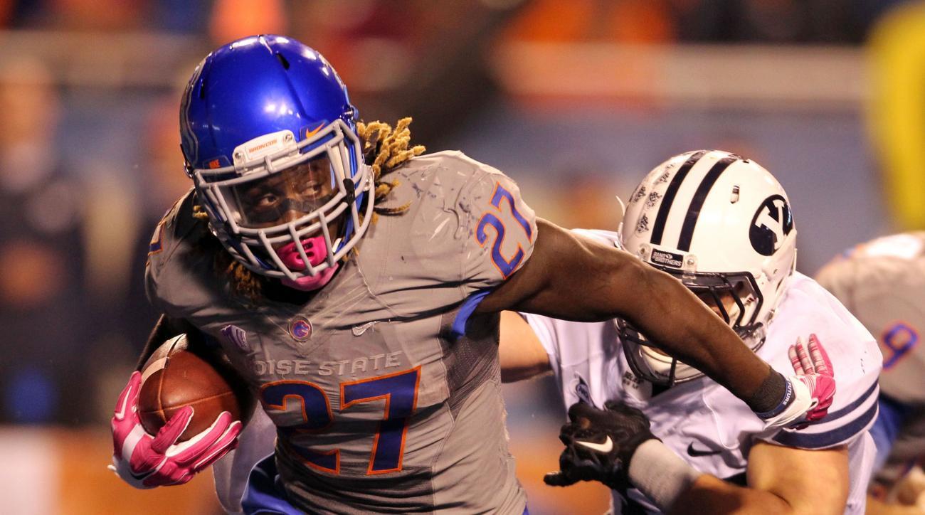 Boise State running back Jay Ajayi NFL Draft