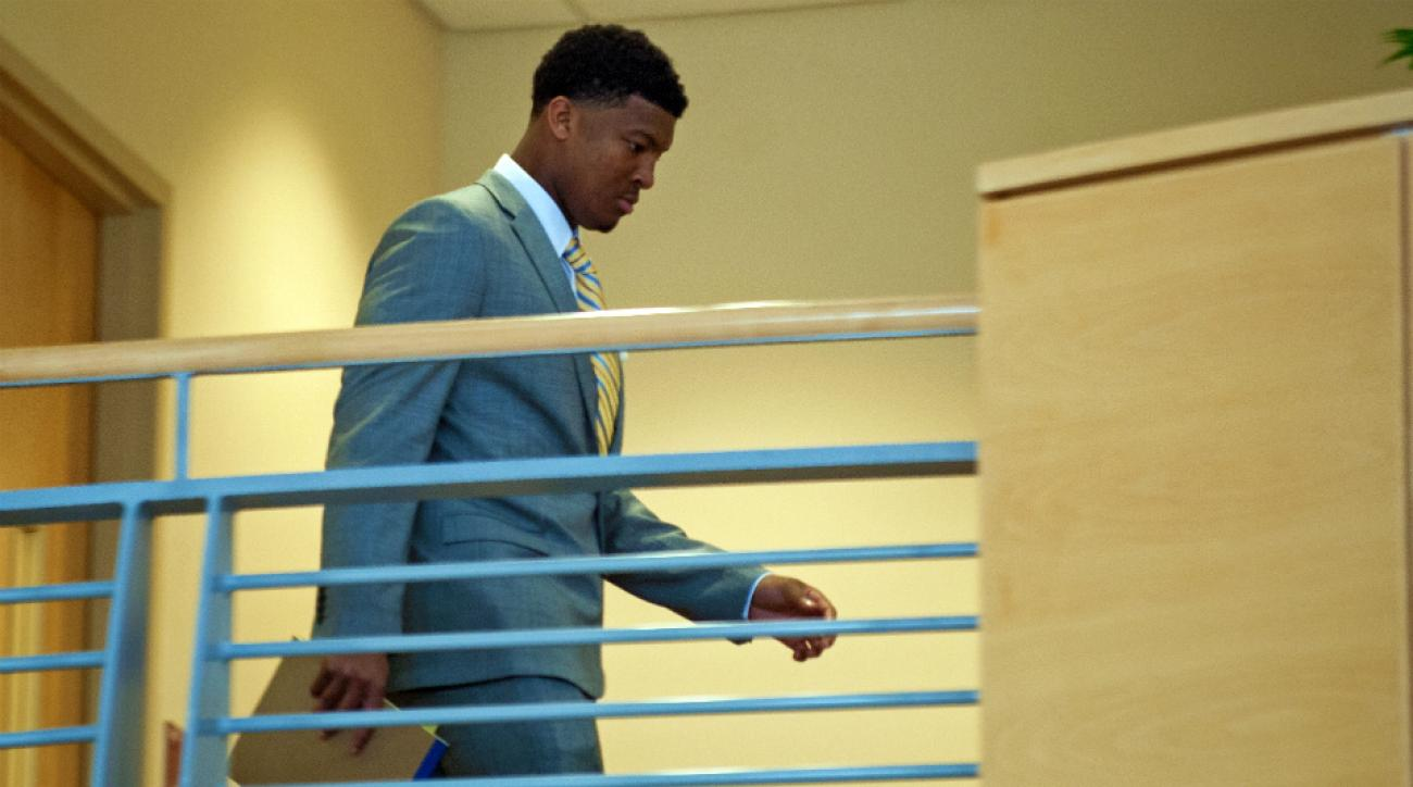 Florida State QB Jameis Winston code of conduct hearing