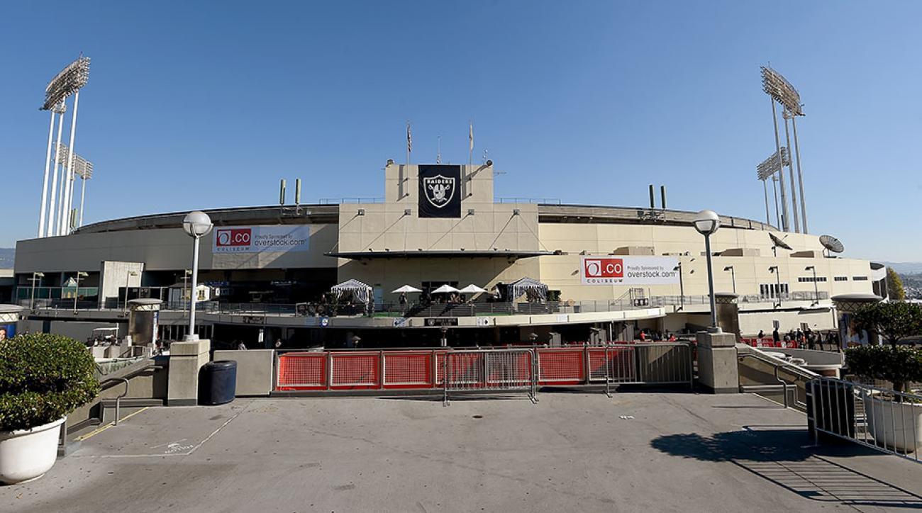 O.co Coliseum Oakland Raiders