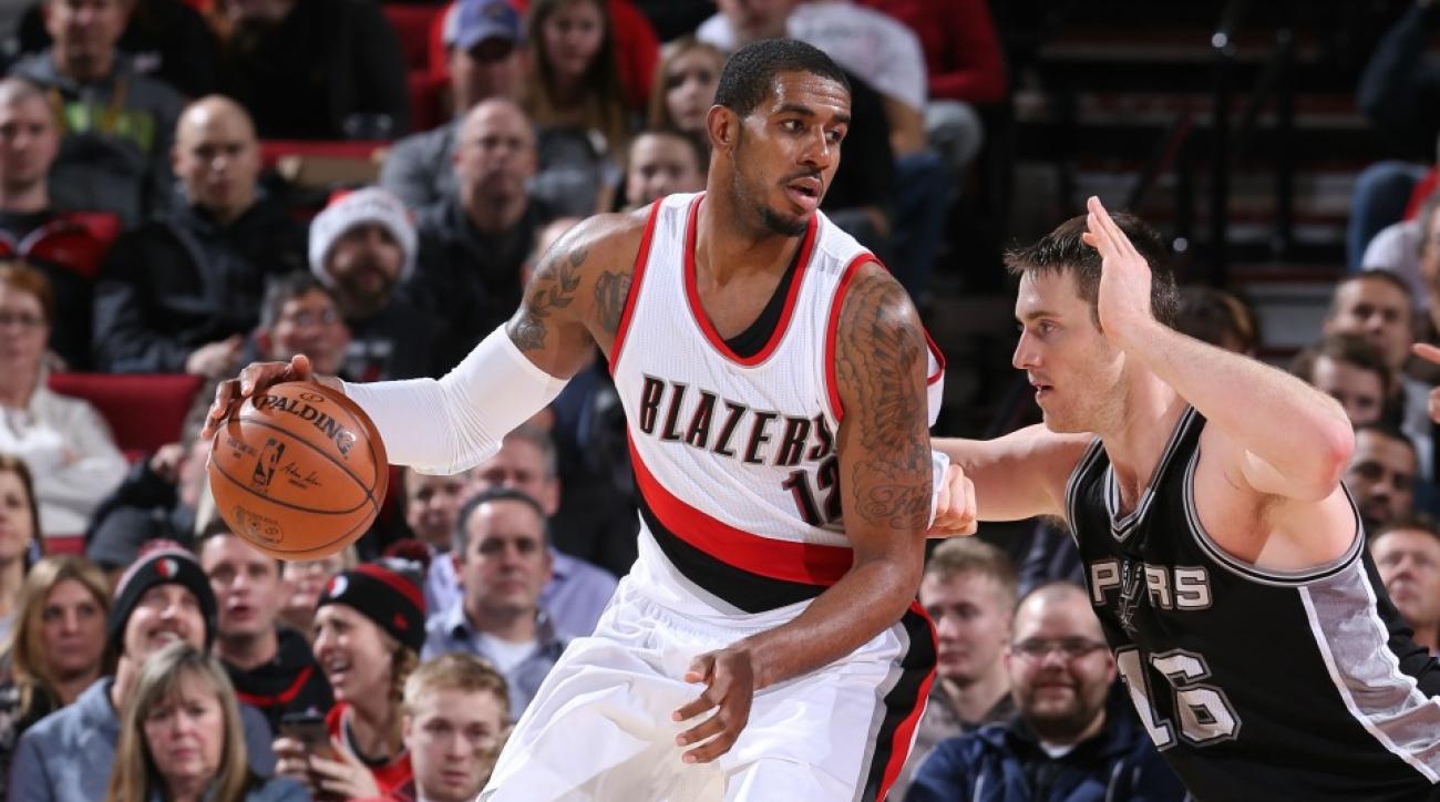 NBA fantasy picks LaMarcus Aldridge