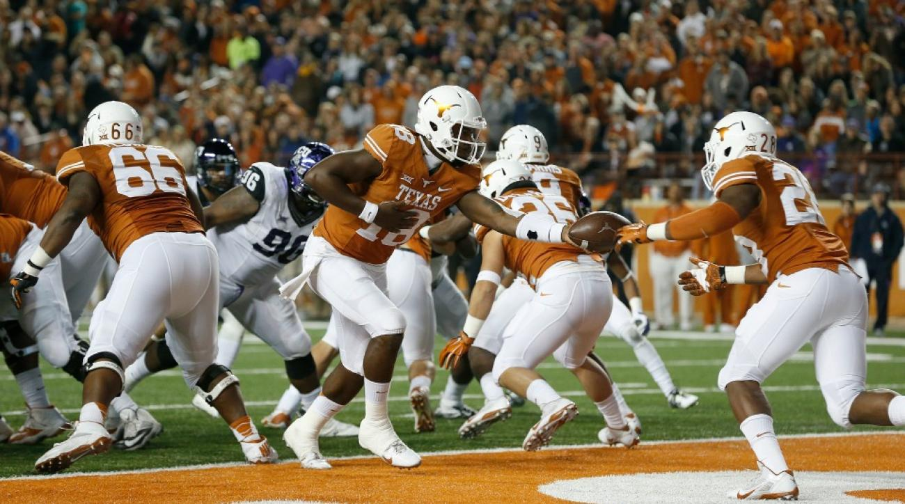 Texas football forbes Notre Dame Michigan