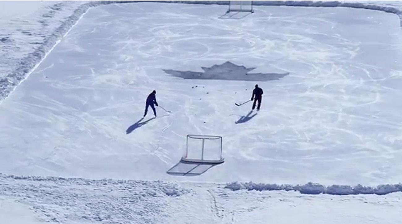 Vitaly Lanochkin hockey