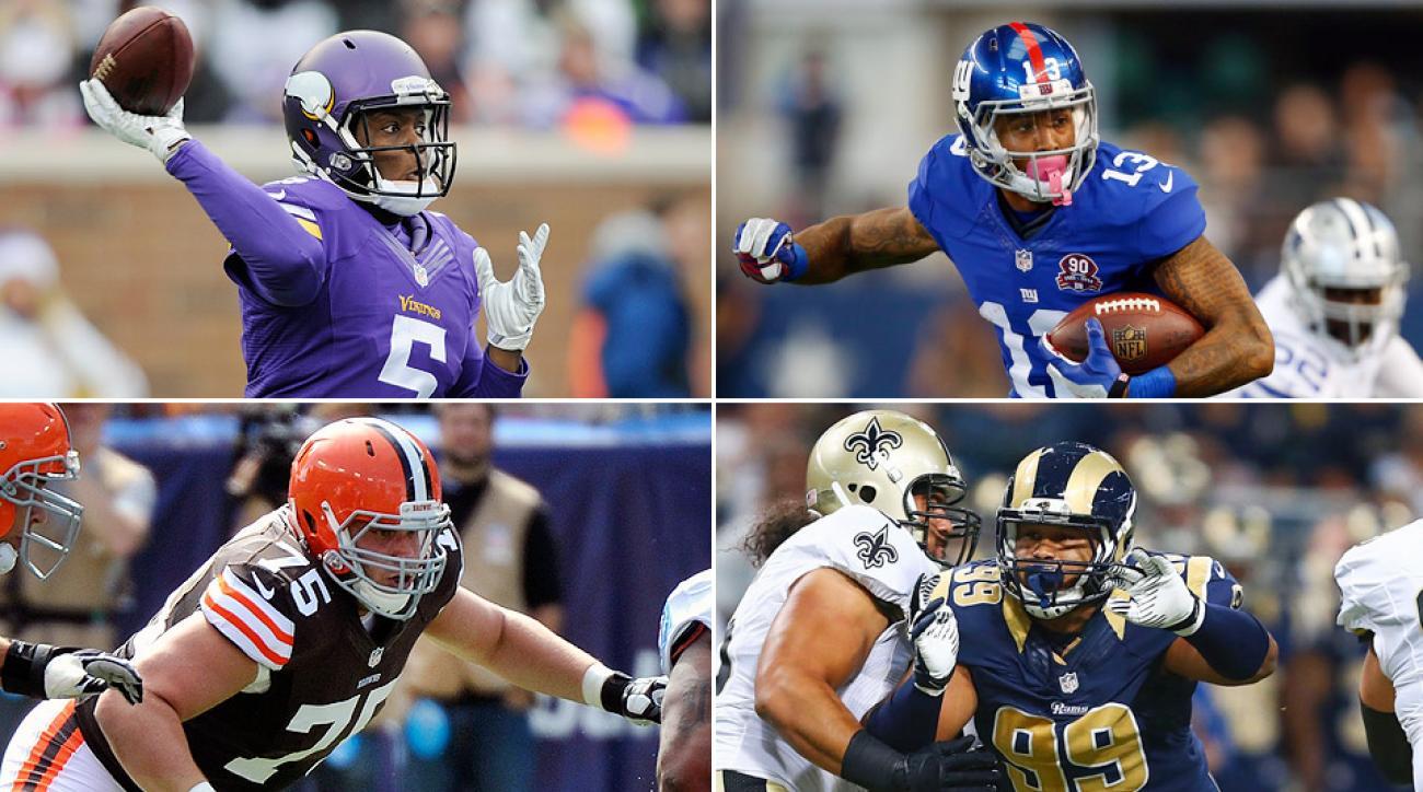 Best NFL rookies 2014: Teddy Bridgewater, Aaron Donald, more