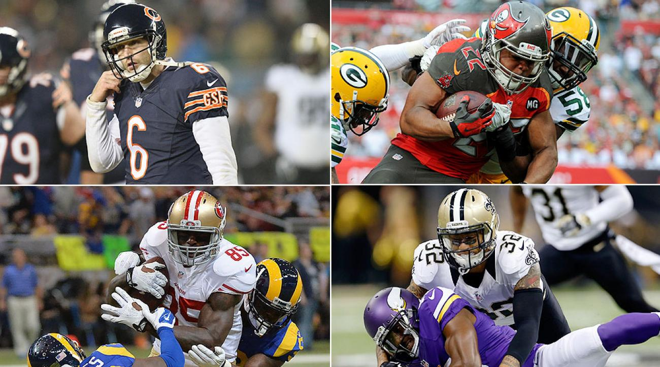 Most disappointing NFL players in 2014: Jay Cutler, Doug Martin, more