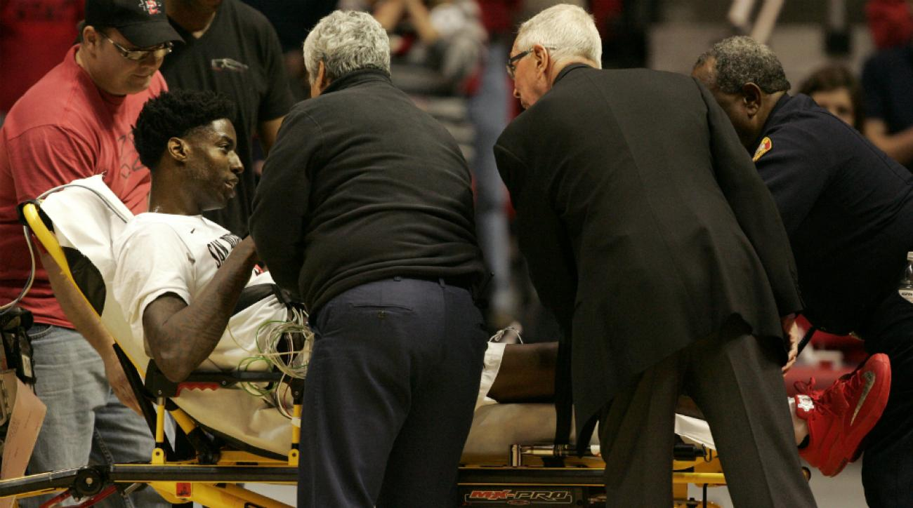 San Diego State Dwayne Polee released hospital