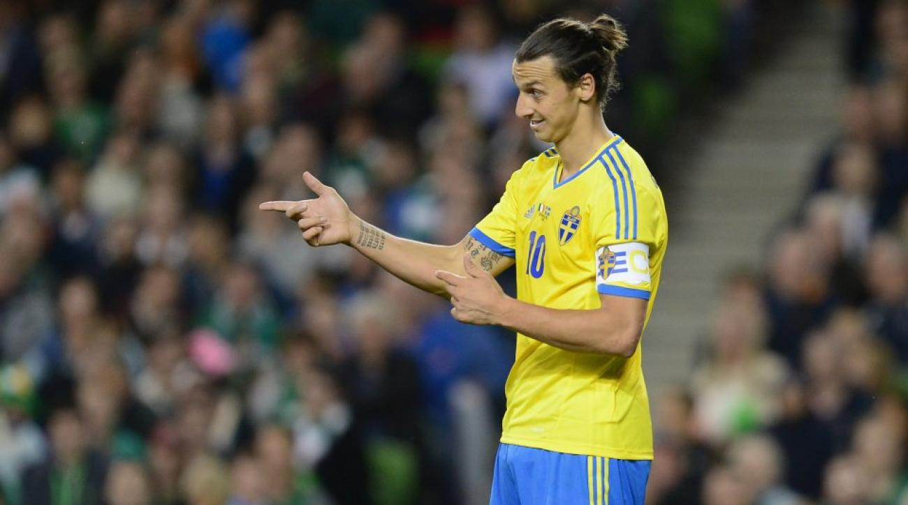 Zlatan Ibrahimovic thinks he is a much better athlete than Bjorn Borg
