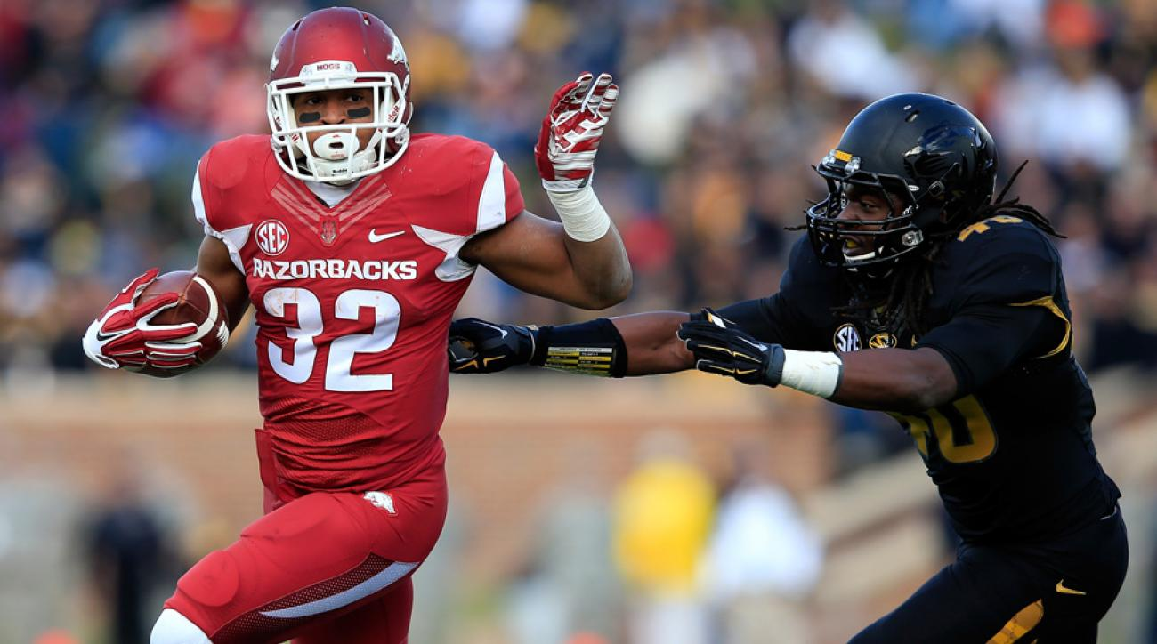 Arkansas Razorbacks running back Jonathan Williams will return for his senior season.