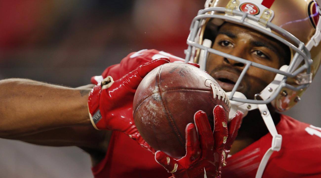 San Francisco 49ers wide receiver Michael Crabtree wants to catch more passes and touchdowns.