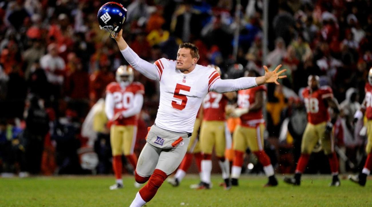 Giants P Steve Weatherford gets a Christmas Eve surprise drug test