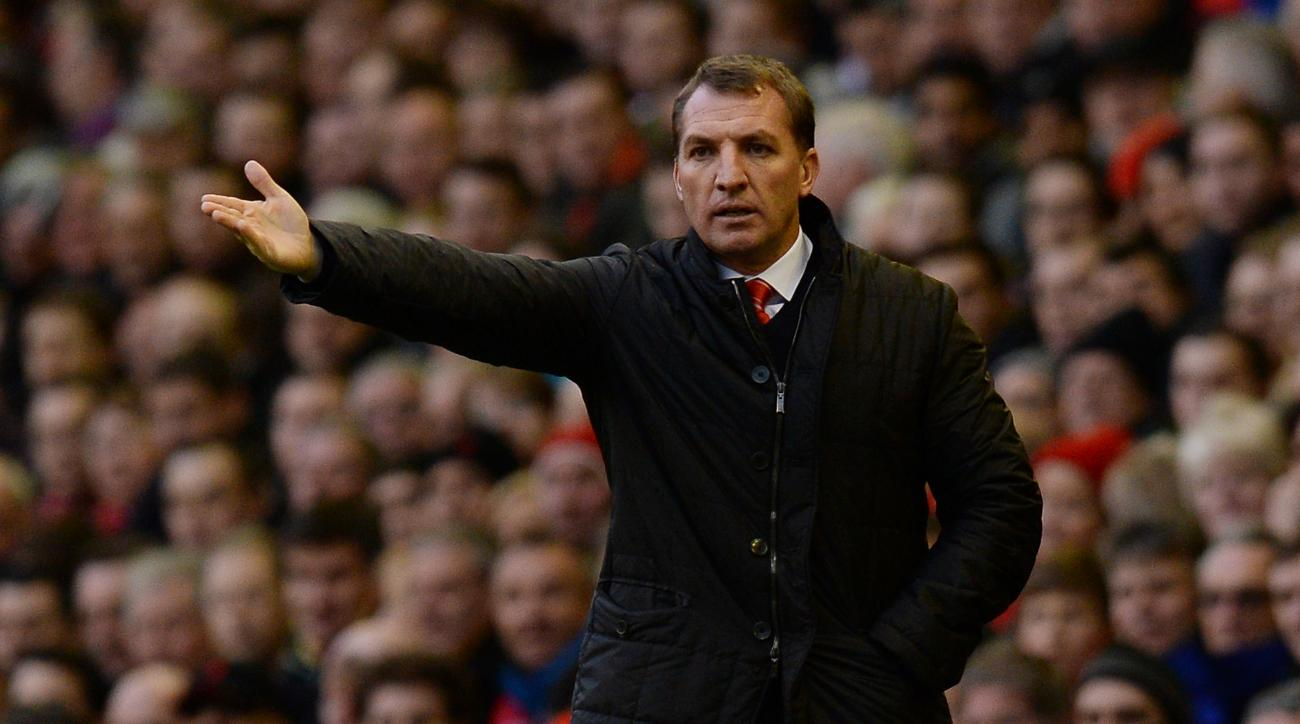 new anfield pitch liverpool brendan rodgers