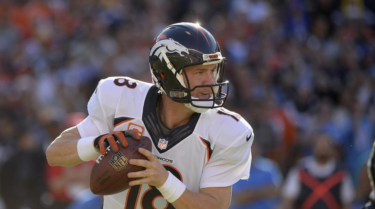 Peyton Manning Denver Broncos return 2015