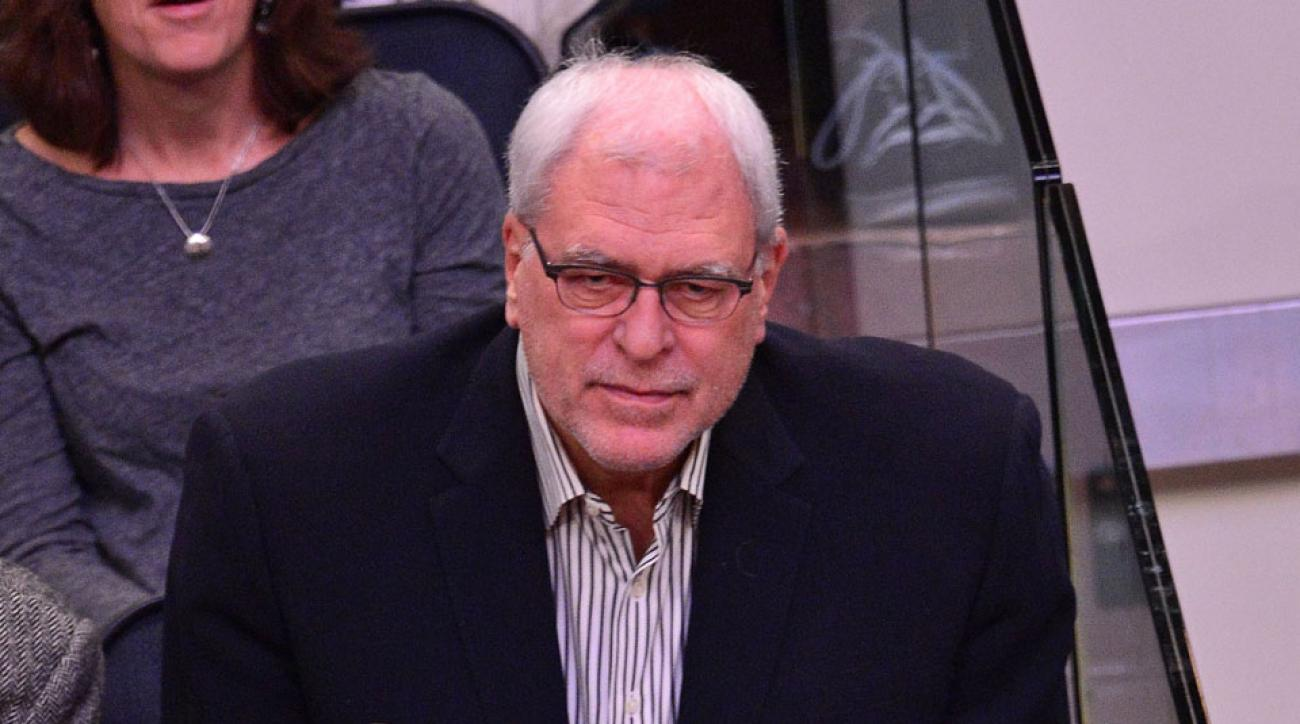 Phil Jackson says Santa will make the Knicks better in 2015.