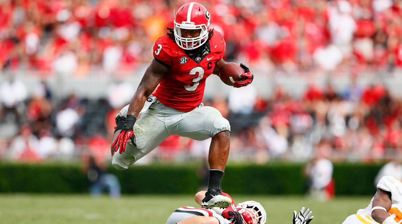Coach: Running back Todd Gurley to enter NFL draft