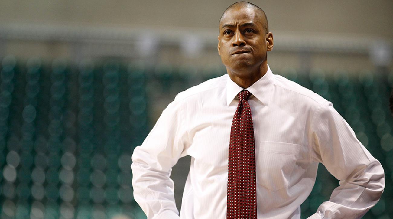 Fresno State coach Rodney Terry