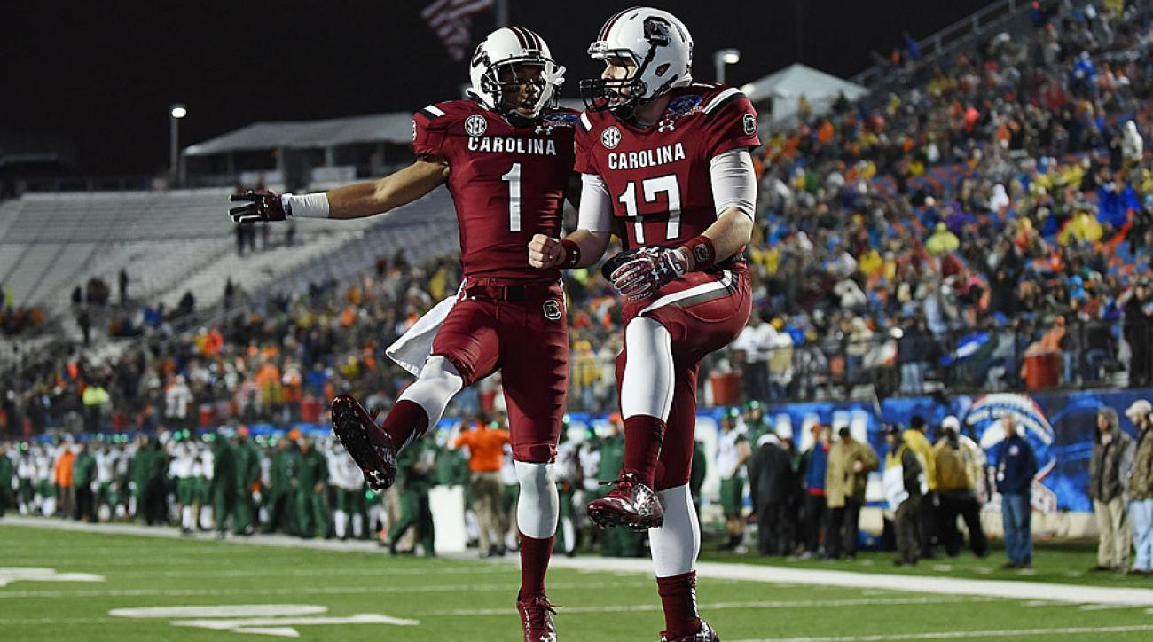 Spurrier, South Carolina end disappointing season with Independence Bowl win