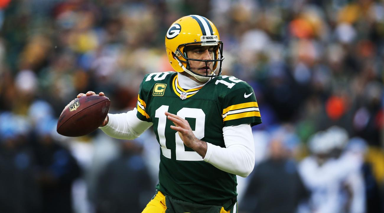 Aaron Rodgers Green Bay Packers left calf injury