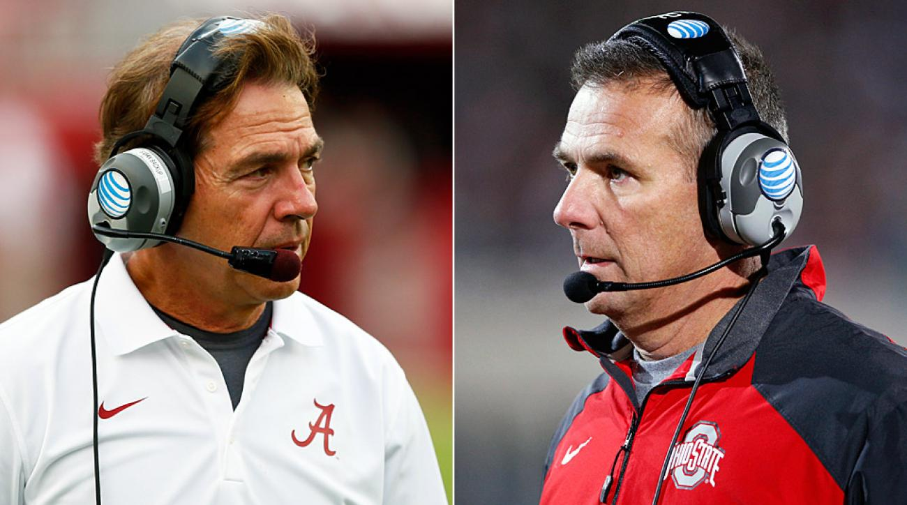 nick saban vs urban meyer looking back at the history of the