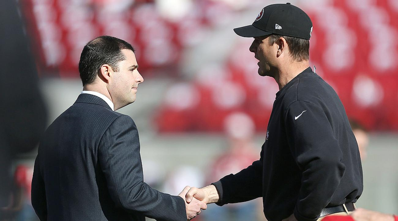 San Francisco 49ers, Jim Harbaugh agree to part ways