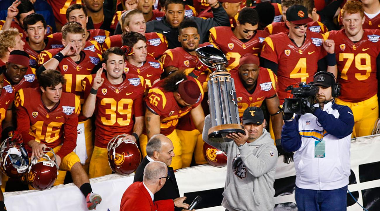 USC takes first step back toward prominence with Holiday Bowl win over Nebraska