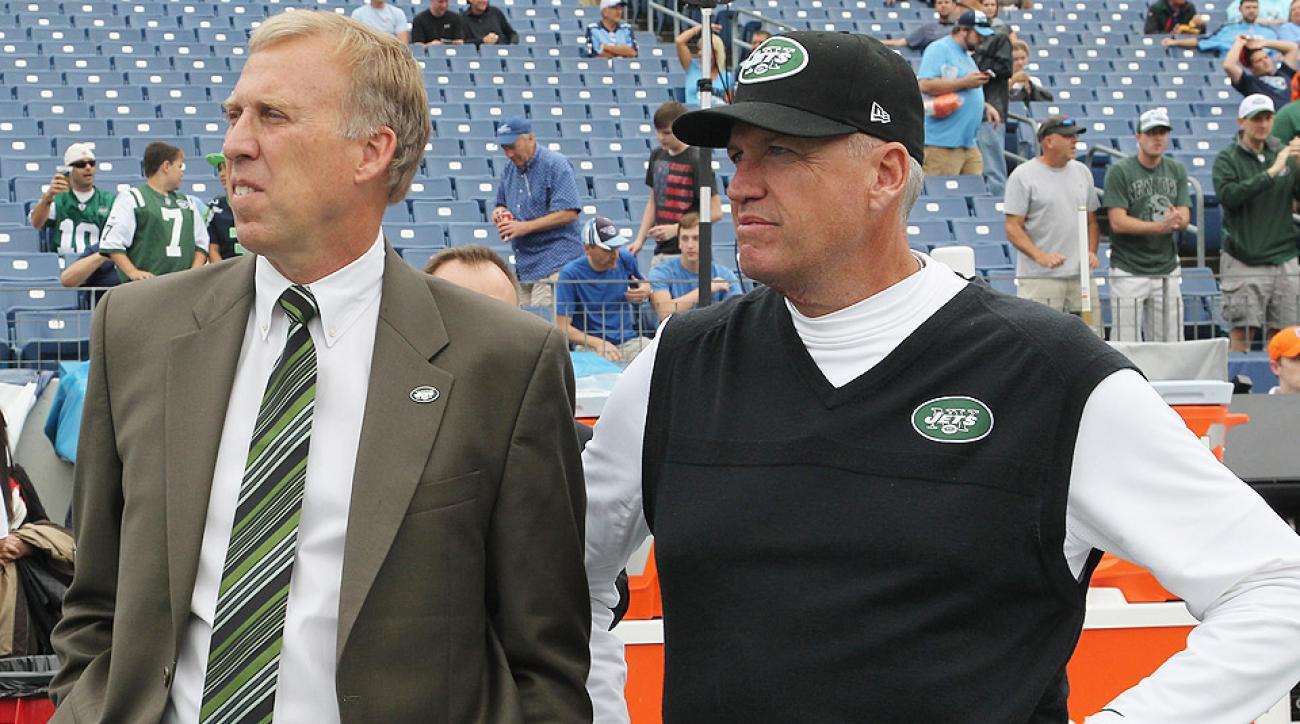 New York Jets fire coach Rex Ryan, GM John Idzik