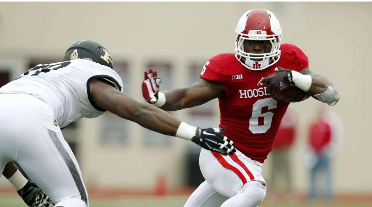 Tevin Coleman Indiana NFL draft