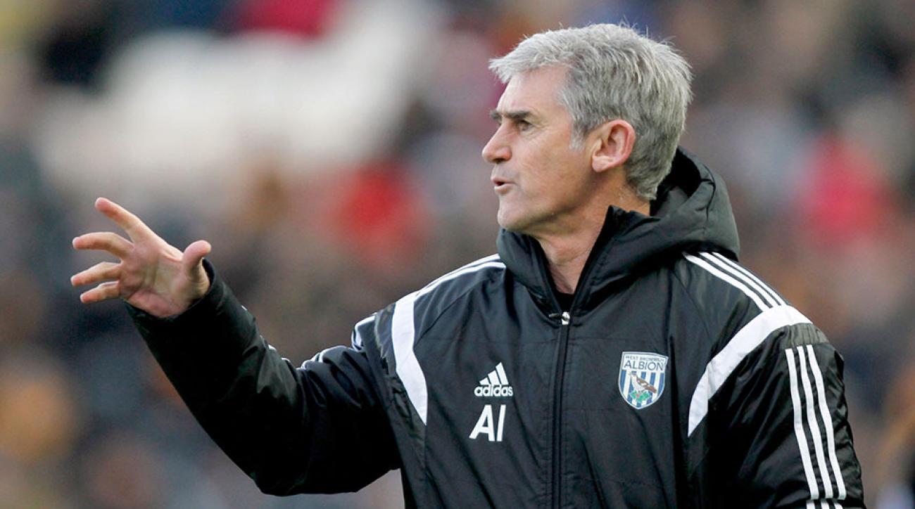 West Brom fires Alan Irvine