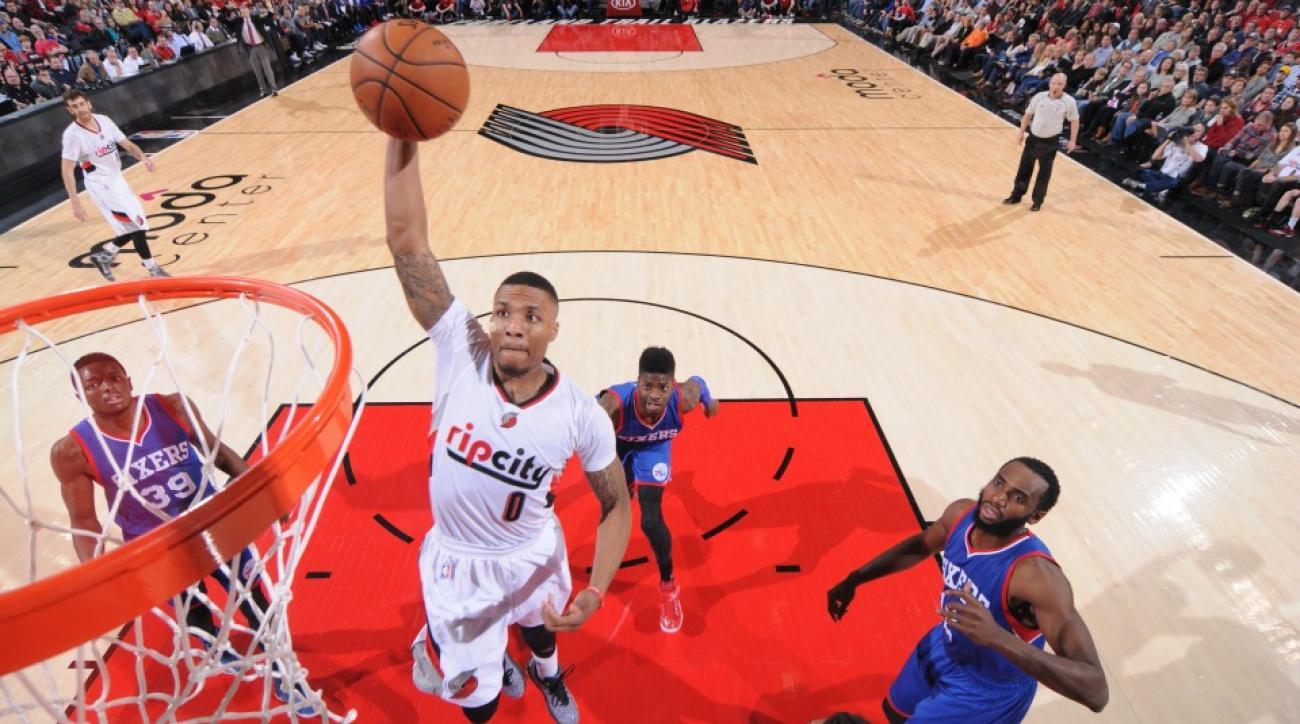 NBA fantasy picks Damian Lillard