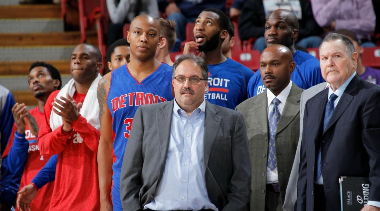 Stan Van Gundy Pistons