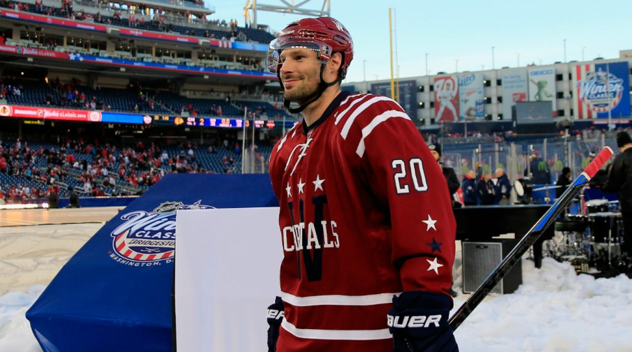 Capitals' Troy Brouwer Winter Classic
