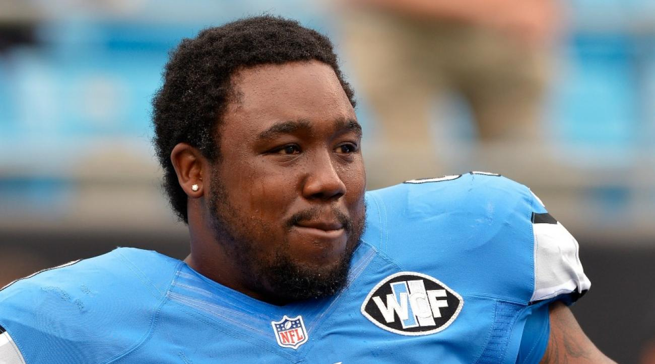 Nick Fairley Lions practices