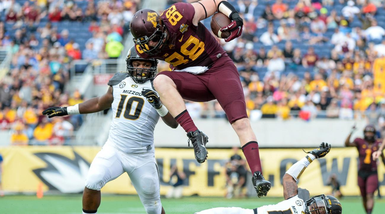 Minnesota's Maxx Williams entering NFL draft