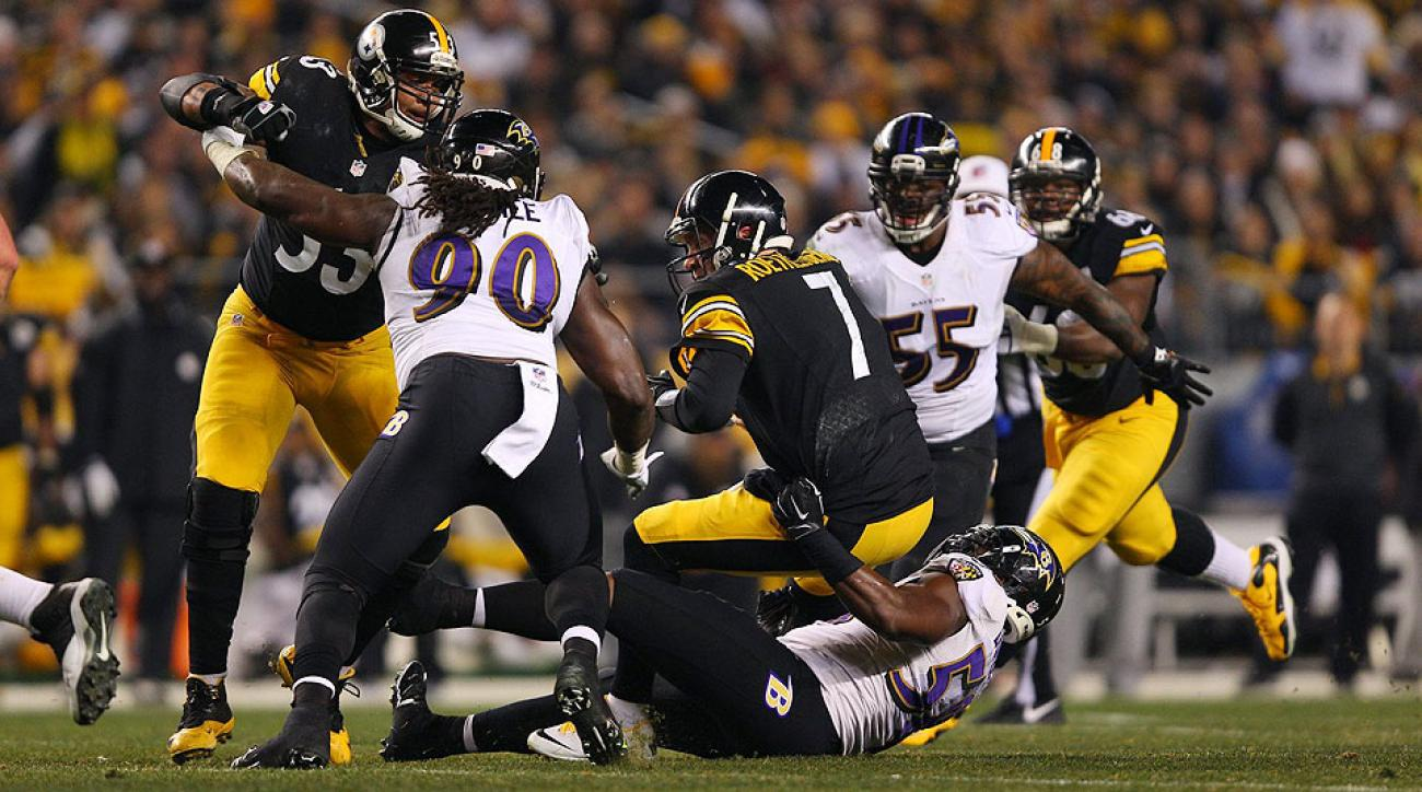 2015 NFL playoffs: Ravens rough up Ben Roethlisberger in 30-17 win over Steelers