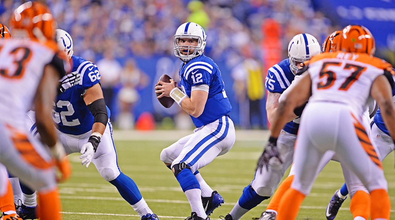 2015 NFL playoffs: Andrew Luck, Indianapolis Colts drop Cincinnati Bengals