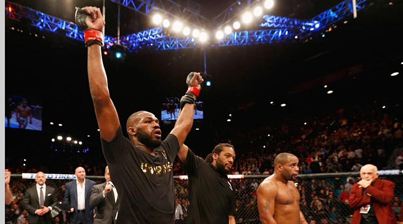 Jon Jones defeats Daniel Cormier UFC 182