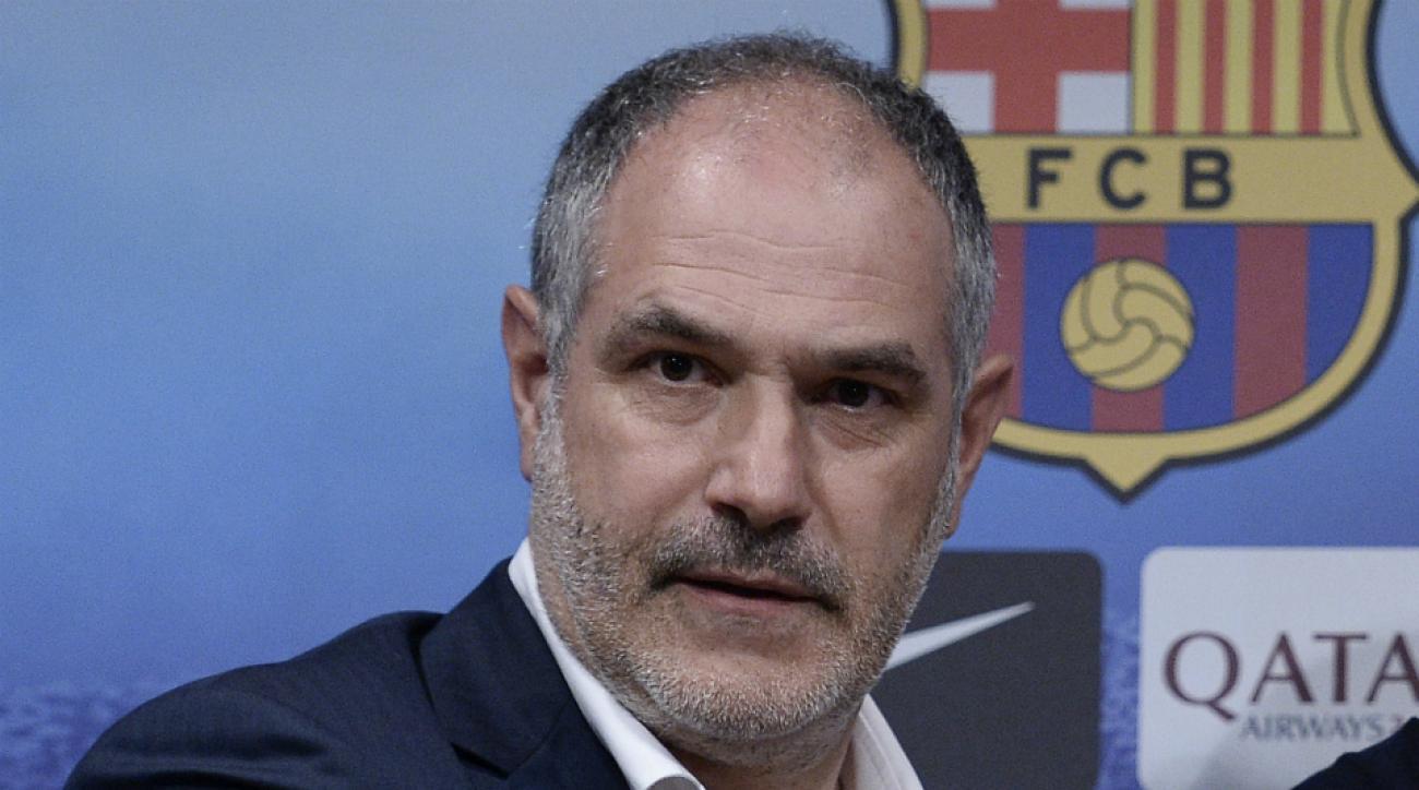 Barcelona terminates contract director Andoni Zubizarreta