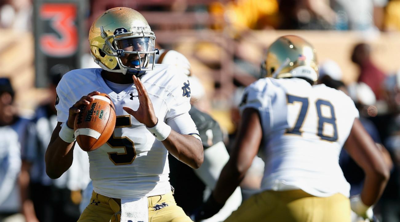 Notre Dame QB Everett Golson transfer to LSU