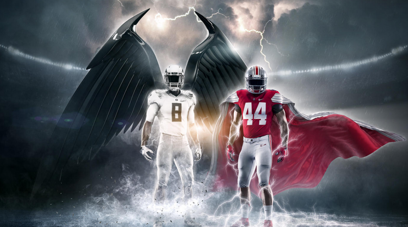 2017 05 kickoff time for national championship game - Oregon Osu National Championship Game Uniforms Revealed