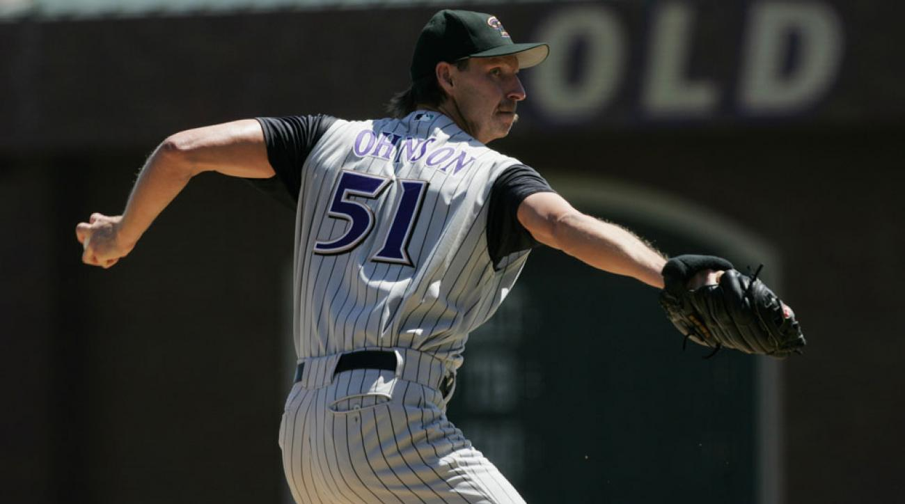 Randy Johnson is part of the Baseball Hall of Fame's 2015 class.